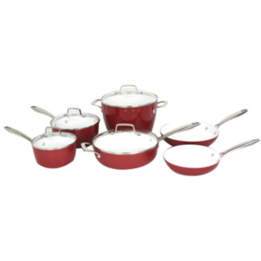 jcpenney.com | Oneida® 10-pc. Forged Aluminum Cookware Set