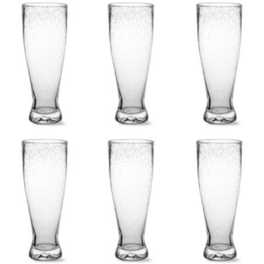 jcpenney.com | Tag Bubble Glass Set of 6 Pilsner Glasses