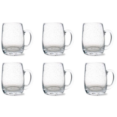 jcpenney.com | Tag Bubble Glass Set of 6 Beer Mugs