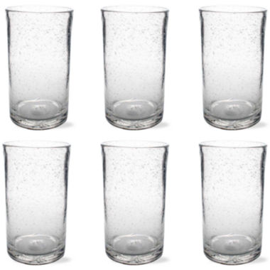 jcpenney.com | Tag Bubble Glass Set of 6 Tumbler Glasses