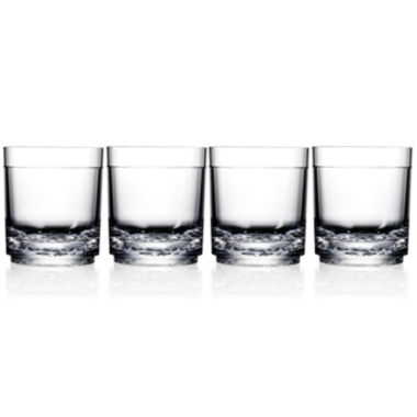 jcpenney.com | Drinique Unbreakable Elite Set of 4 Tumbler Glasses