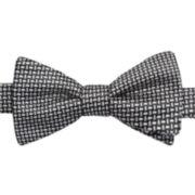 Stafford® Cross Dot Pre-Tied Bow Tie