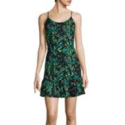 Decree® Sleeveless Drop-Waist Slip Dress