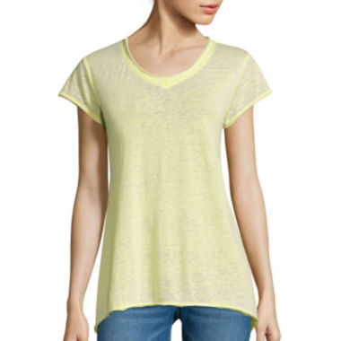 jcpenney.com | i jeans by Buffalo Sharkbite Burnout Tee