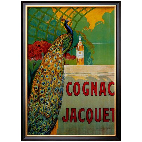 Cognac Jacquet Framed Print Wall Art