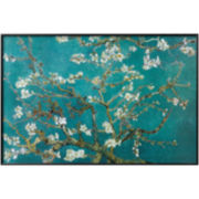 Almond Blossom Framed Poster Wall Art