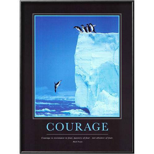 Art.com Courage Framed Print Wall Art