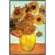 Sunflowers, c.1888 Framed Print Wall Art