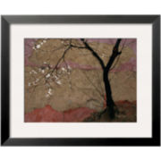 Plum Tree Framed Photo Wall Art