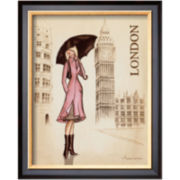 London Framed Print Wall Art