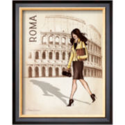 Roma Framed Print Wall Art