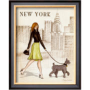 New York Framed Print Wall Art
