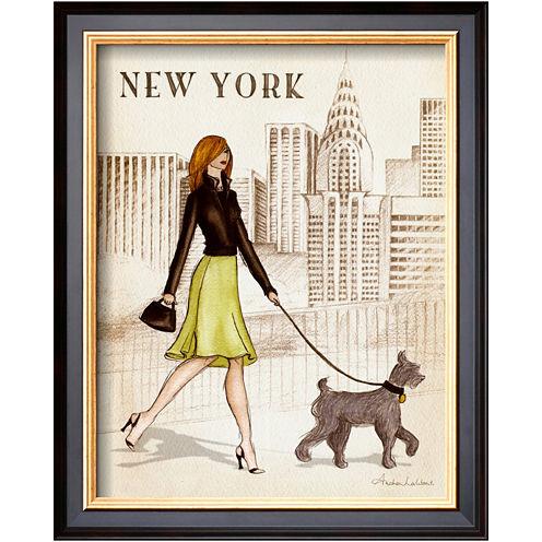Art.com New York Framed Print Wall Art