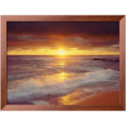 Sunset Cliffs Beach Framed Photo Wall Art