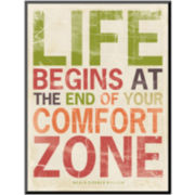 Life Begins Print Wall Art