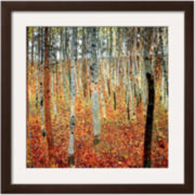 Forest of Beech Trees, c.1903 Framed Print Wall Art
