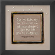 Go Confidently II Framed Print Wall Art