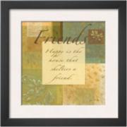 Art.com Muted Moments: Friends Framed Print Wall Art