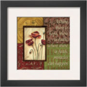 Spice 4 Patch: Where There is Hope Framed Print Wall Art