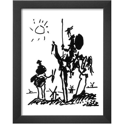 Art.com Don Quixote, c.1955 Framed Print Wall Art