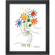 Petite Fleurs Framed Print Wall Art