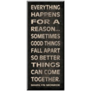 Everything Happens Print Wall Art