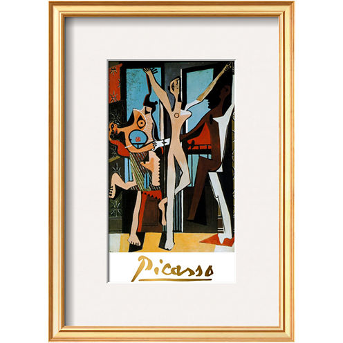 Art.com Three Dancers, c.1925 Framed Print Wall Art