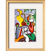 Nude and Still Life, c.1931 Framed Print Wall Art