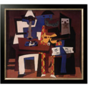 Three Musicians, c.1921 Framed Print Wall Art