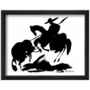 Bullfight I Framed Print Wall Art