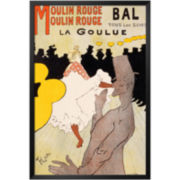 Moulin Rouge, c.1891 Framed Print Wall Art