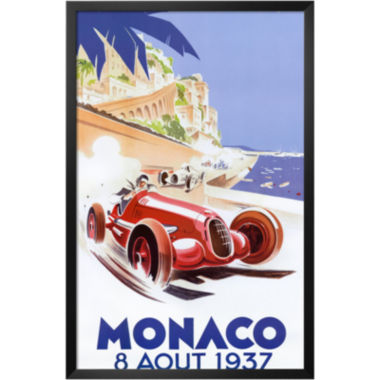 jcpenney.com | Art.com Monaco, 1937 Framed Print Wall Art