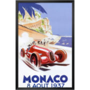 Monaco, 1937 Framed Print Wall Art
