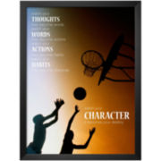 Character Framed Print Wall Art
