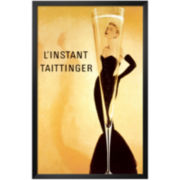 L'Instant Taittinger Framed Print Wall Art