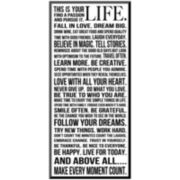This is Your Life Print Wall Art