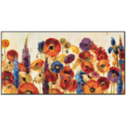 Joyful Garden Print Wall Art