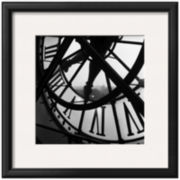 Orsay Clock Framed Print Wall Art