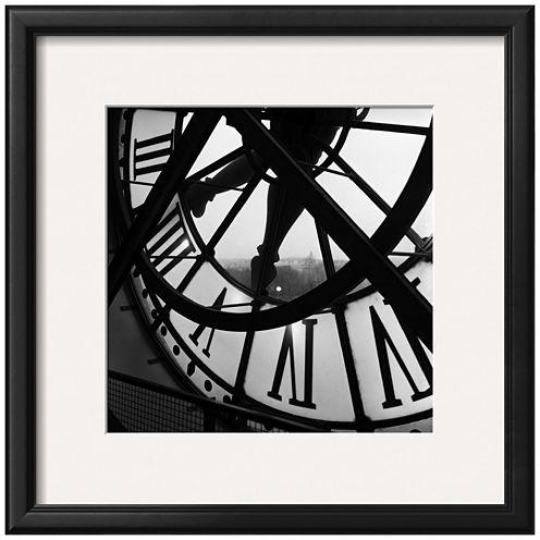 Art.com Orsay Clock Framed Print Wall Art