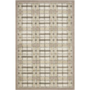 Martha Stewart Rugs™ Colorweave Plaid Rectangular Rugs – Sharkey Gray