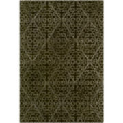 Martha Stewart Rugs™ Strolling Garden Rectangular Rugs – Coffee