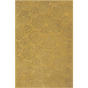 Martha Stewart Rugs™ Geranium Leaf Rectangular Rugs – Toffee