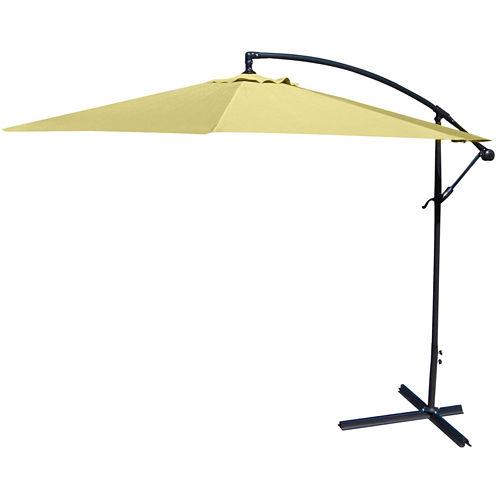 10' Steel Offset Cantilever Umbrella