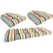 3-pc. Wicker Cushion Set