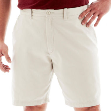 jcpenney.com | The Foundry Big & Tall Supply Co.™ Twill Shorts