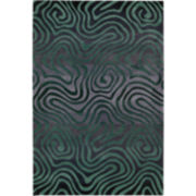 Nourison® Fun Maze Carved Rectangular Rug