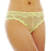THE BODY Elle Macpherson Intimates Dot Mesh Cheeky Panties