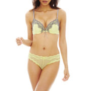 The Body Elle Macpherson Intimates Satin and Lace Pushup Bra or Cheeky Panties