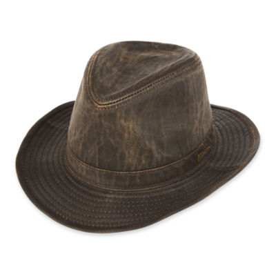 Indiana Jones™ Weathered Cotton-Blend Fedora Hat bfb3d81247e