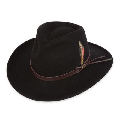 d84ca7a2ba2 Scala™ Wool Felt Casual Outback Hat